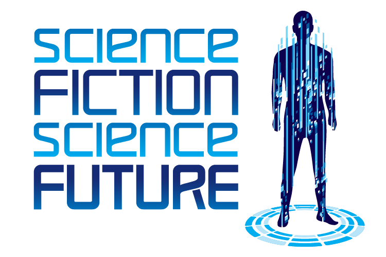 Science Fiction Science Future Logo. Text.