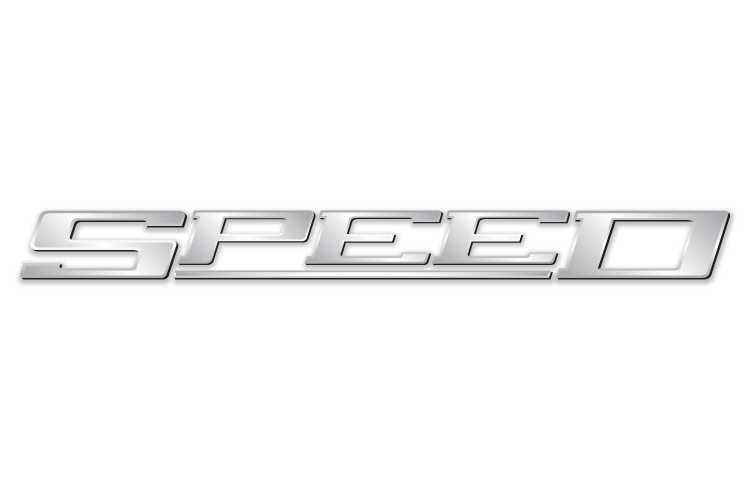 Speed. Text.