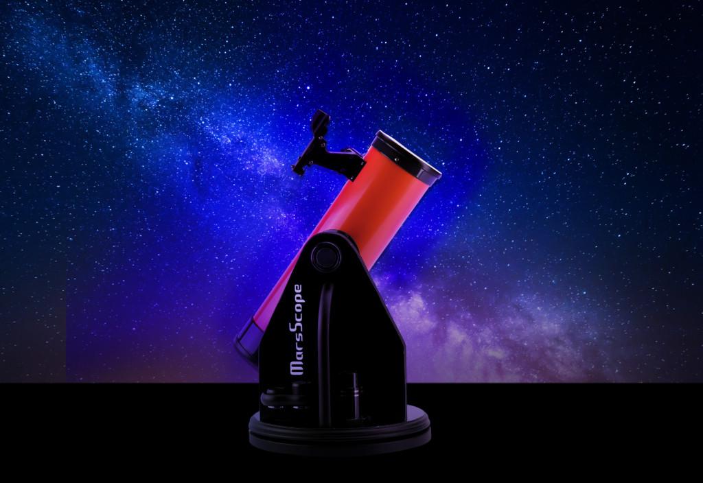 A MarsScope Dobsonian telescope product image.